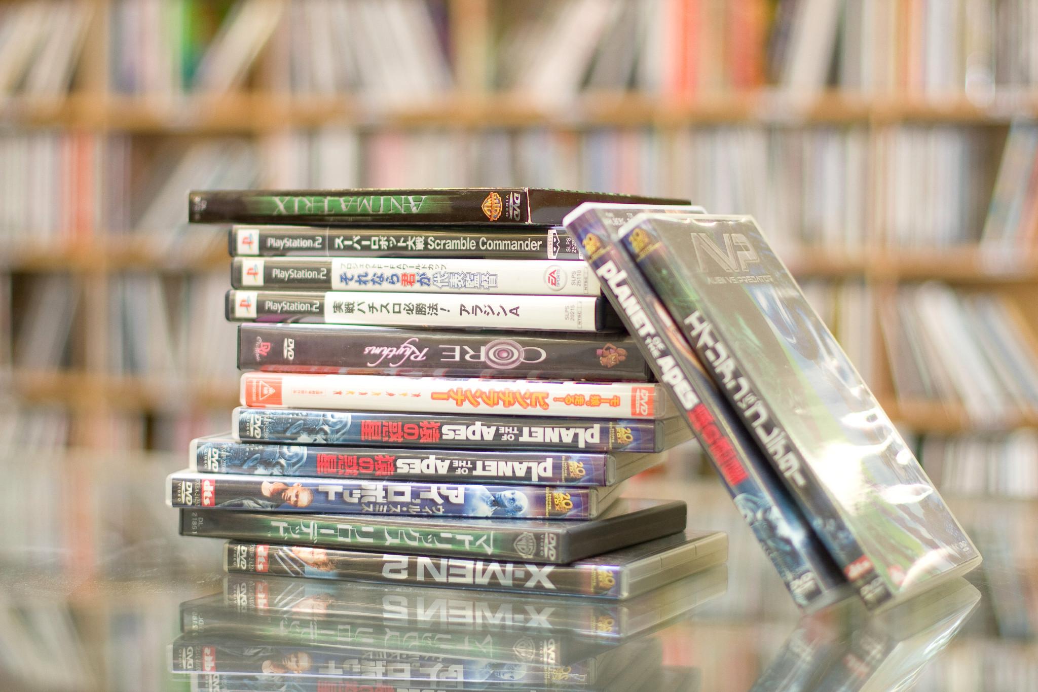 DVD倉庫