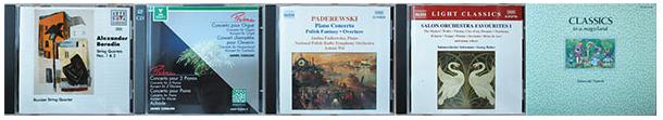交響曲、管弦楽、オペラ・声楽、バレエ、現代音楽